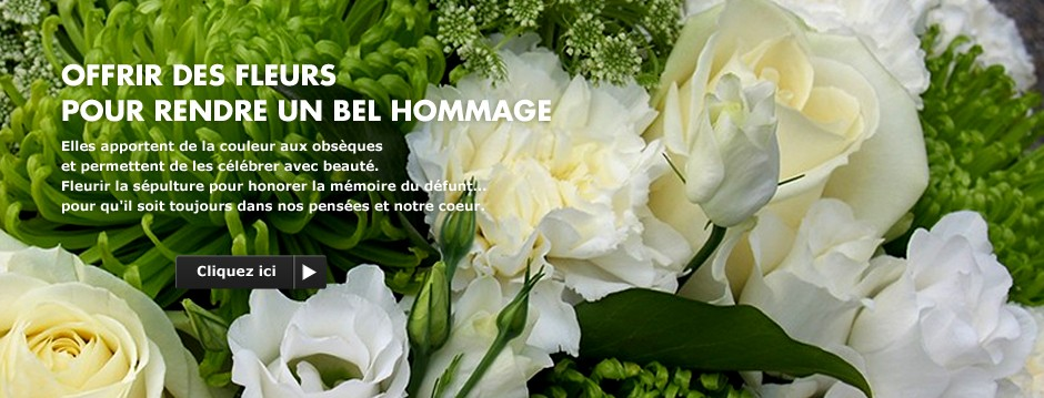 Offrir des fleurs pour rendre un bel hommage