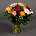 Bouquet de roses mélangées