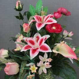 fleurs artificielles 25