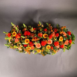 Dessus de cercueil coloré